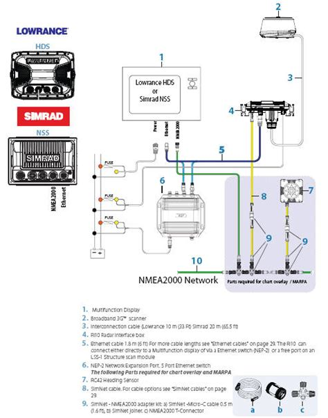 lowrance hds 5 wiring diagram lowrance hds 5 wiring