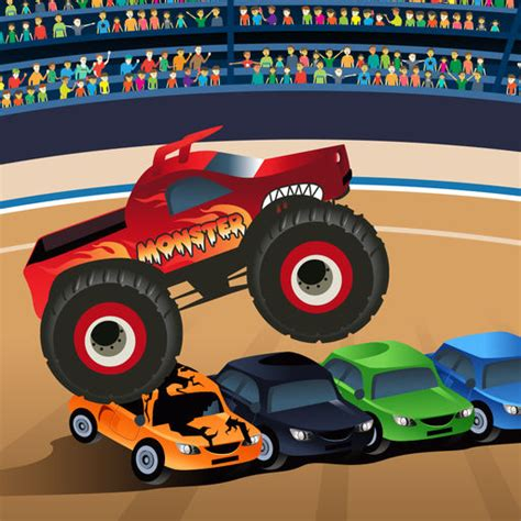 monster trucks kids video monster truck game for kids by chris razmovski