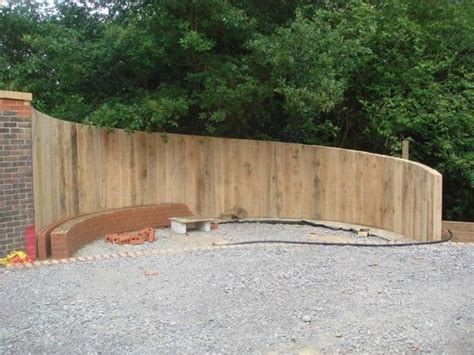 Garden Sleeper Wall by 19 Best Images About Vertical Railway Sleeper Retaining