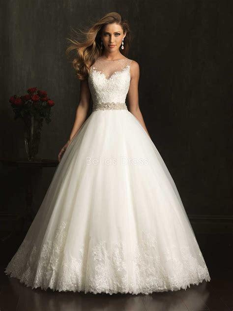 look with lace gown wedding dresses cherry - Brautkleid Ballkleid