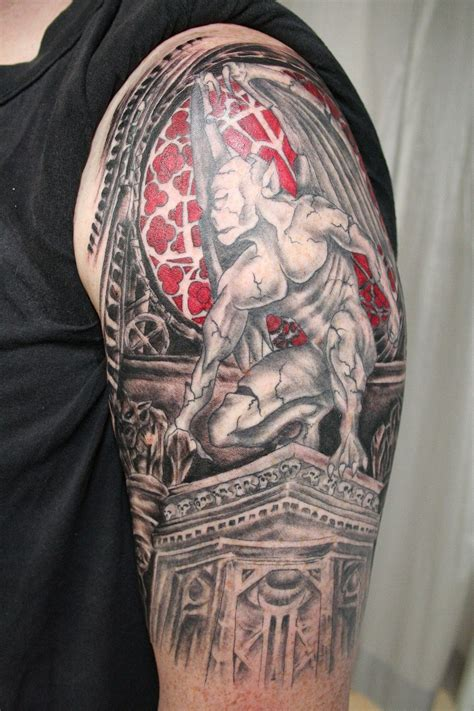 gargoyle tattoo gargoyle theme by 2face on deviantart