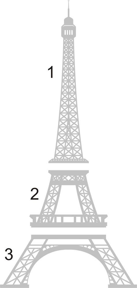 eiffel tower template images for gt eiffel tower template for cakes