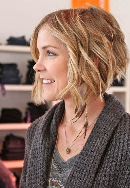 how to cut a aline bob on wavy hair 65 best images about short hair on pinterest shorts
