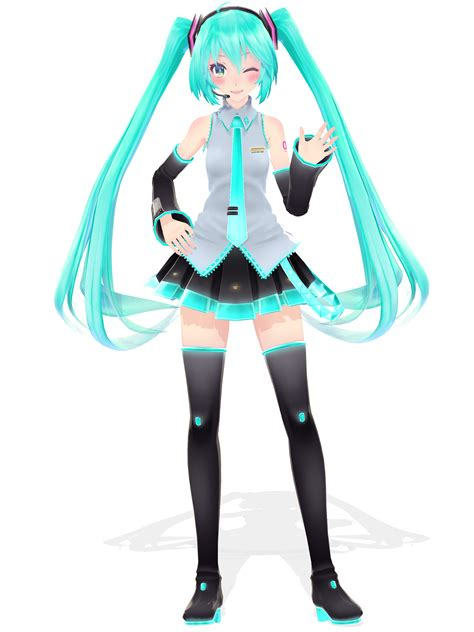 P Anime Characters by Mmd Cerca Amb Mmd Models Hatsune
