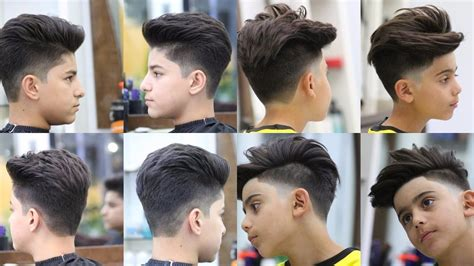 Hairstyles 2018 Boy by Top Attractive Haircuts For Boys For 2018