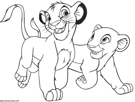 lion king coloring pages free online coloring pages of the lion king az coloring pages