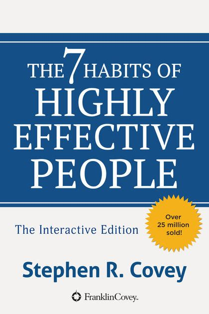 The 7 Habits Of Highly Effective By Stephen Rcovey the 7 habits of highly effective by stephen r