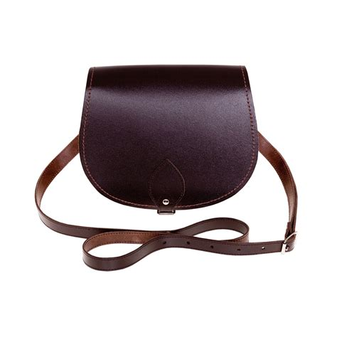 Handcrafted Leather Bag - zatchels womens handcrafted leather saddle bag