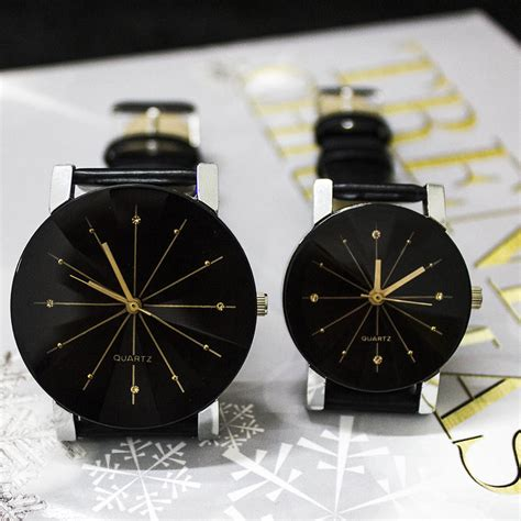 membuat gelang untuk laki laki palight lepas pu kulit gelang jam tangan hitam untuk laki