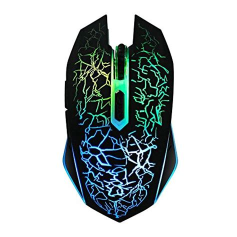 gaming in color wireless color gaming mouse
