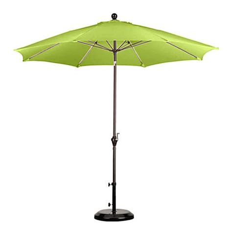 Patio Umbrella Green 9 Lime Green Patio Umbrella Outdoor Sunshade