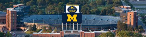 big house michigan mgoblue com university of michigan official athletic site
