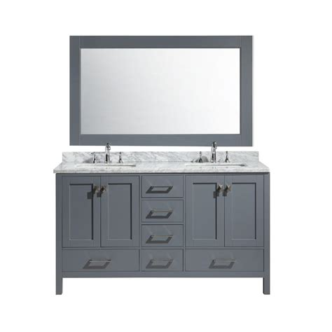 home depot design element vanity design element london 54 in w x 22 in d x 36 in h