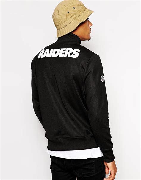 new era jackets new era new era nfl oakland raiders track jacket at asos