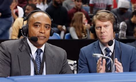 color commentator who is color commentator phil in at t just ok basketball