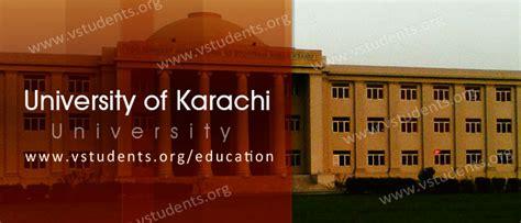 Greenwich Karachi Mba Fee Structure by Uok Of Karachi Admission 2018 Last Date Fee