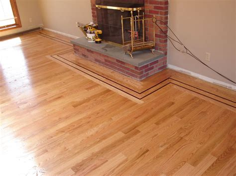 Hardwood Floor Borders Ideas 1000 Images About Wood Floors On