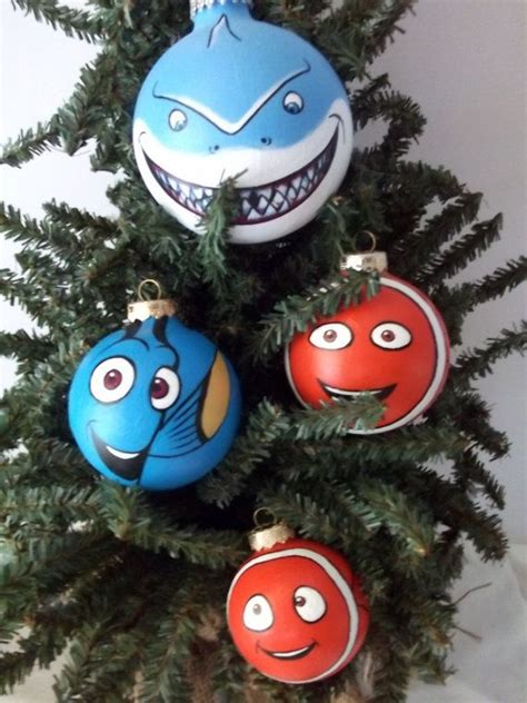 finding nemo pixar painted holiday christmas ornament gift