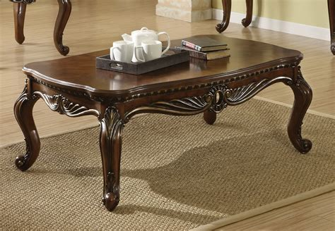 Traditional Coffee Table Shop For Remington Traditional Coffee Table Acme Furniture Coffee Side And End Tables Af
