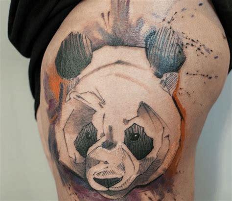 tattoo panda dessin les 27 meilleures images du tableau tatouage panda sur
