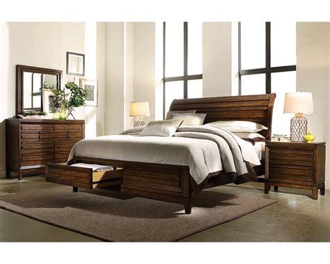 Aspenhome Bedroom Furniture Aspenhome Bedroom Set W Sleigh Storage Bed Walnut Park Asi05 400sset