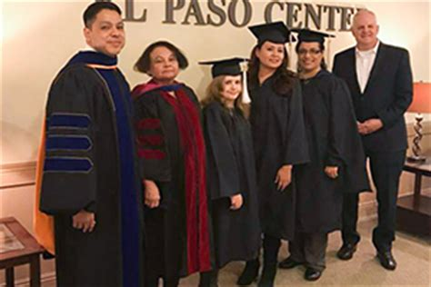 El Paso Mba by Hpu S El Paso Center Awards Two Undergraduate Degrees