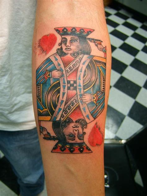 king of hearts tattoo king of hearts by tim macnamara tattoonow