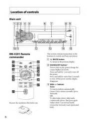 sony cdxgt260mp support and manuals