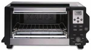 Krups Toaster Oven Krups Fbc4 13 6 Slice Convection Digital Toaster Oven With