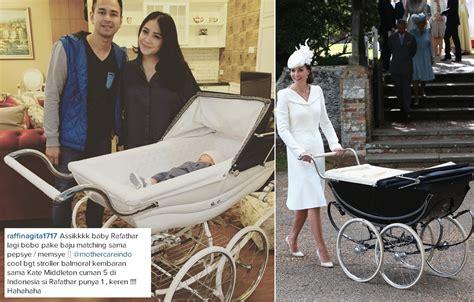 Kereta Dorong Bayi Kate Middleton kereta bayi rafathar ternyata mirip dengan milik kate