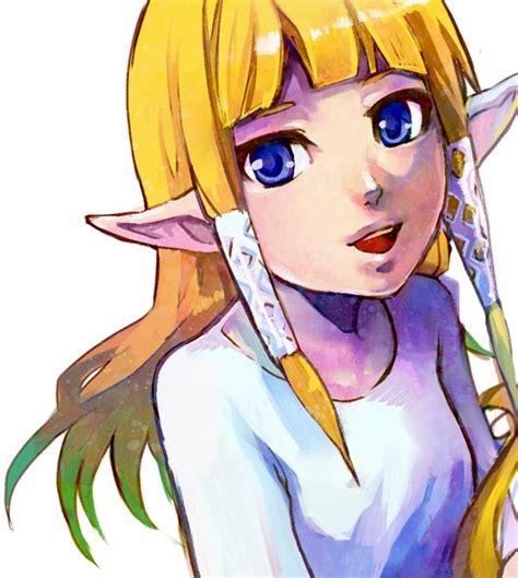princess zelda hair zelda skyward sword loz skyward sword pinterest