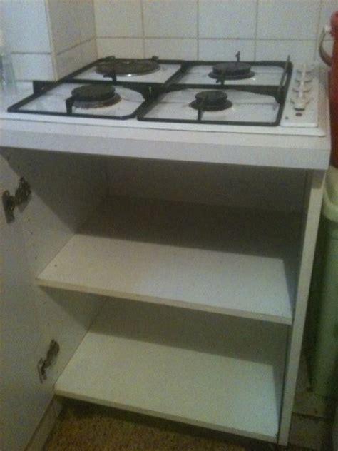 cuisine non int馮r馥 meuble pour table de cuisson meuble table cuisson sur