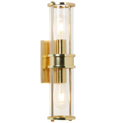 sconces for bathroom lighting yeon double sconce rejuvenation