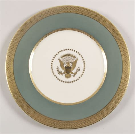 house plate harry s truman dinner plate white house state
