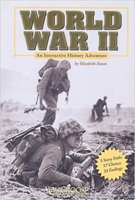 world war 2 in pictures book world war ii an interactive history adventure by