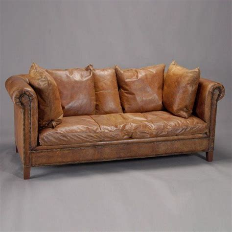 leather sofa kids ralph lauren sofa our dream house pinterest leather