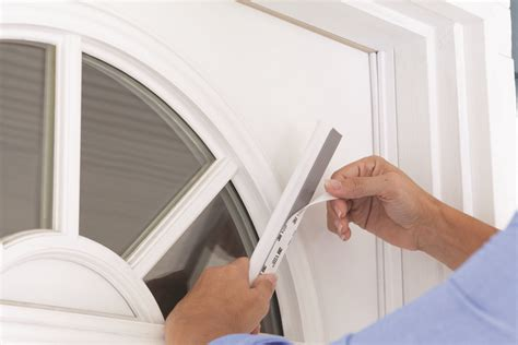 How To Put New Weather Stripping On A Door cinch weatherstripping