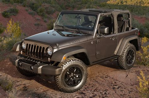 Jeep Edition 2014 Jeep Wrangler Willys Wheeler Edition Front Three