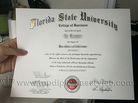 Florida State Mba by Buy Florida State Degree Make Fsu Diploma