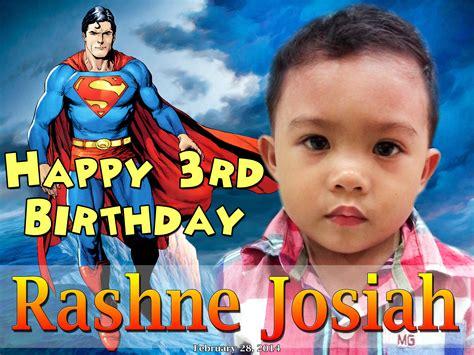 happy birthday tarp design superman background for birthday tarpaulin www pixshark