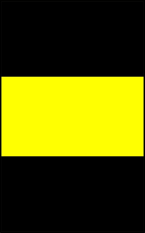 Black Yellow black and yellow trail
