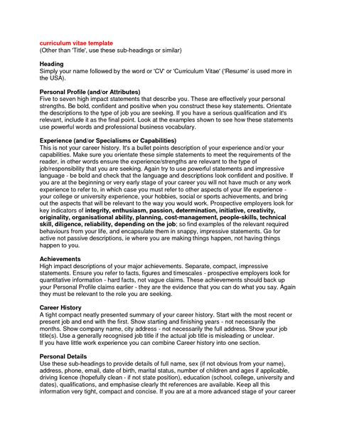 how to write a resume profile resume ex cover letter how write a to
