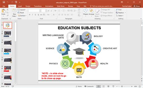 free animated powerpoint templates for teachers animated education subjects powerpoint template