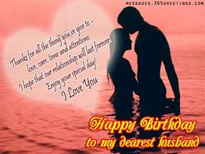 romantic birthday wishes for husband 365greetings com