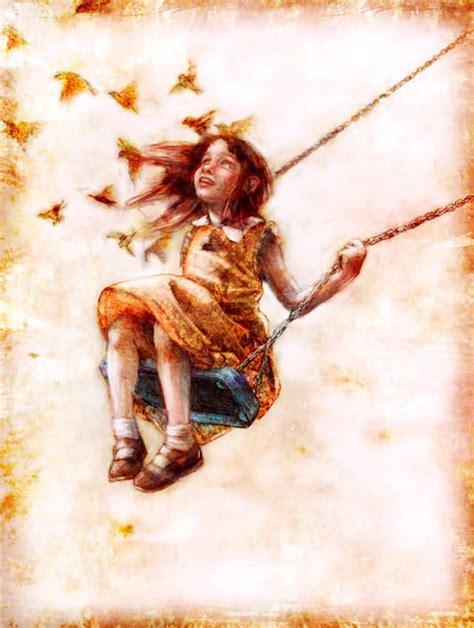 free painting no flying birds child image 572488 on favim