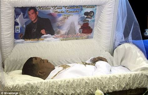 famous people dead bodies hector macho camacho famous people morgue coffin