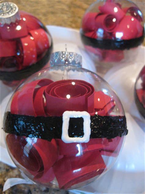 santa belly christmas ornaments