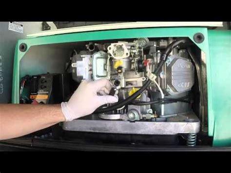 onan 5500 carburetor removal youtube