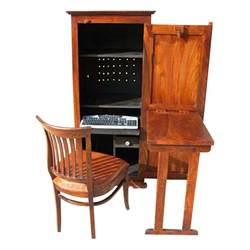 desk storage cabinet solid wood computer hutch desk storage cabinet