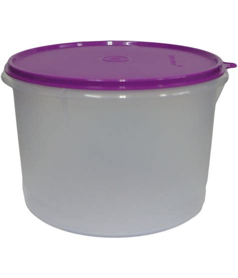 Tupperware 60ml 1pc tupperware storage container 1 pc 3 6 ltr buy at best price in india snapdeal